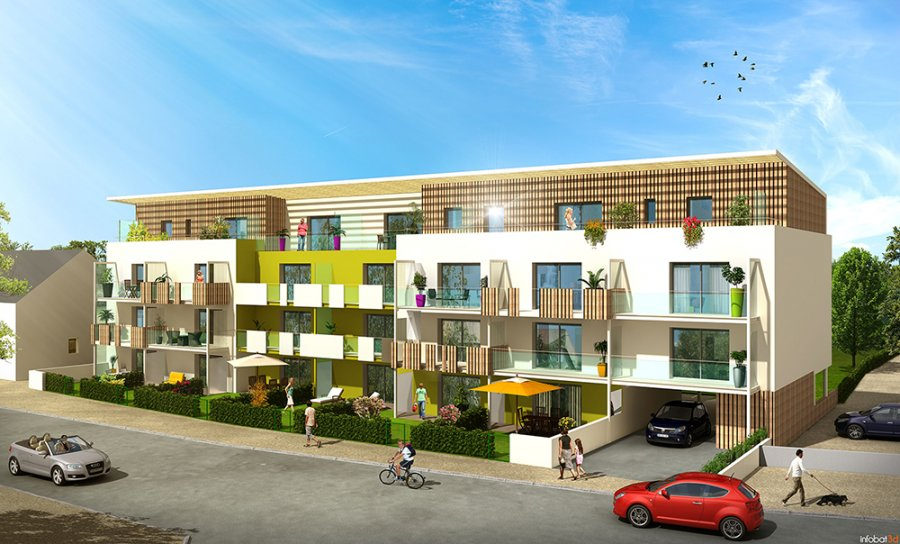 ACP IMMO - Le Carré Castellia - 24 logements à VITRE (35) - MOE : MAGMA architecture