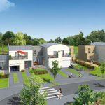 PIERRE Promotion - LES VILLAS ST LOUIS - 19 logements à Vern Sur Seiche (35) - MOE : Agence KOUTEV