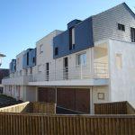AIGUILLON - DOMAINE DES MAISONS BLANCHES - 8 logements à Saint Grégoire (35) - MOE : BNR
