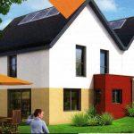COOP de Construction - LE DOMAINE DE CARNAC - 8 maisons à Geveze (35) - MOE : agence B. GAUTHIER